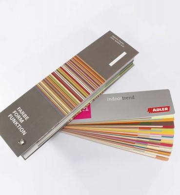 Colour fan decks
